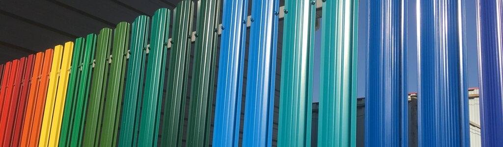 Забор из евроштакетника в Истре