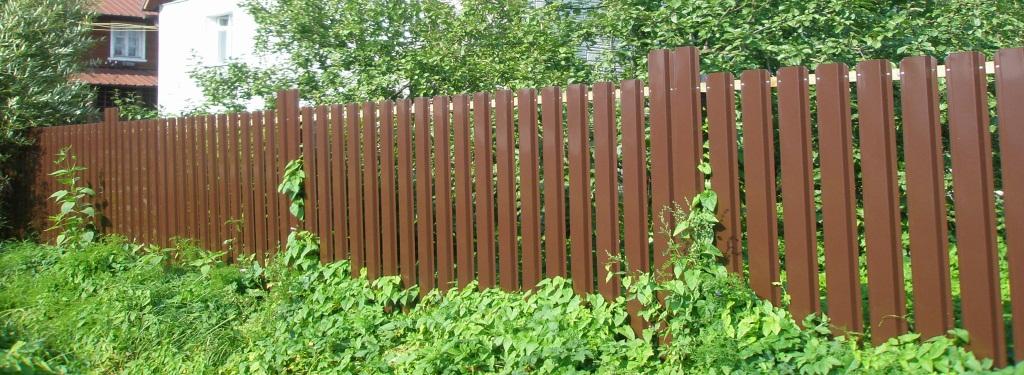 Забор для дачи недорого