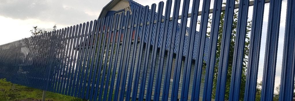 Забор для участка 12 соток