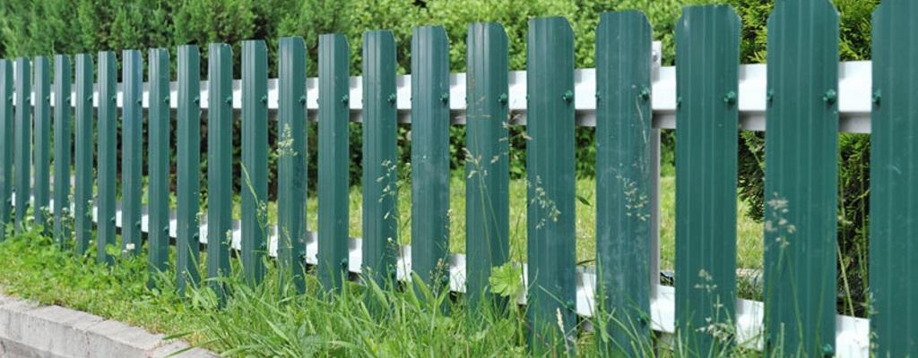 Купить забор из евроштакетника в Одинцово