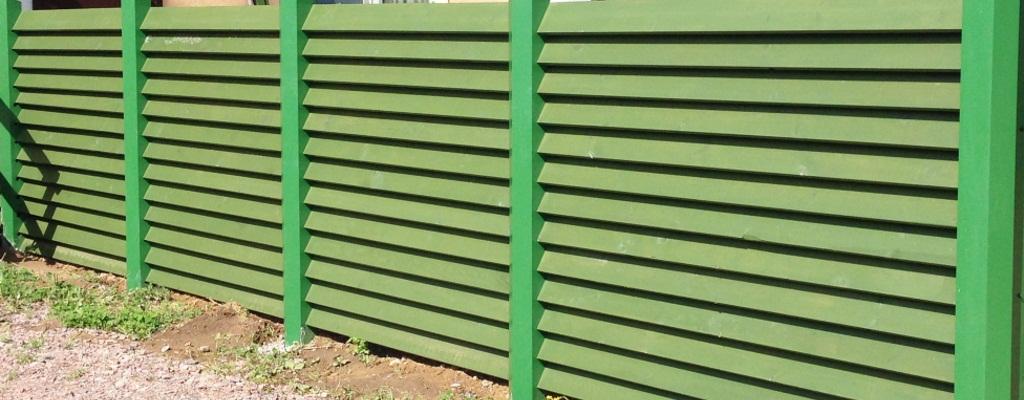 Купить забор-жалюзи