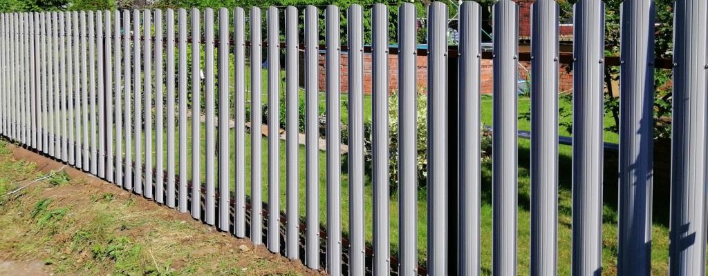 Заказать забор из евроштакетника в Коломне